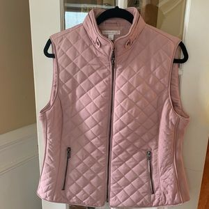 Jackets & Blazers - Ladies Pink Mediu weight Vest, size Large